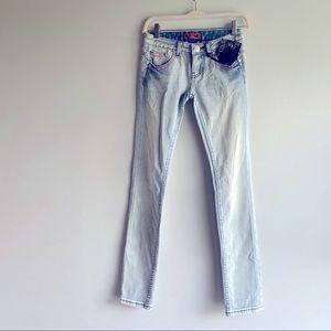 Rerock for Express Women's Skinny Jean Low Rise 00